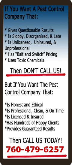 Pest Control of Encinitas Sidebar